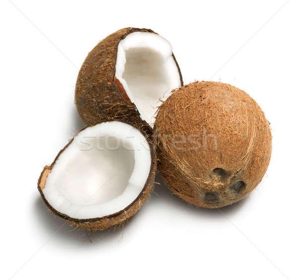 Comida beber leite tropical coco Foto stock © Alexstar
