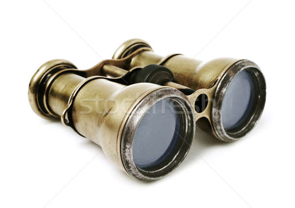 Old binoculars Stock photo © Alexstar