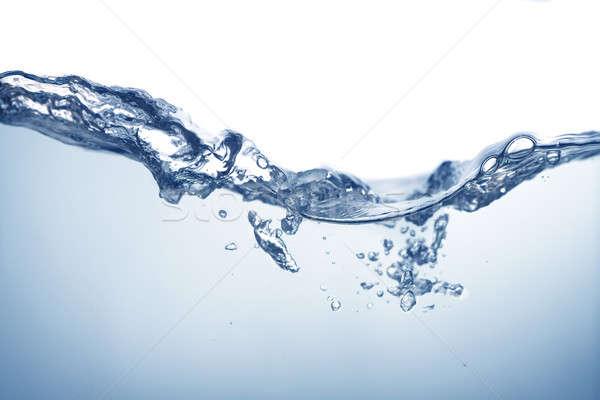 Víz hullám ital sebesség szín fürdő Stock fotó © Alexstar