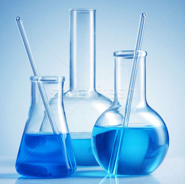 Laboratory glassware  Stock photo © Alexstar