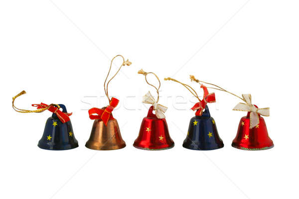 Christmas small bell Stock photo © Aliftin