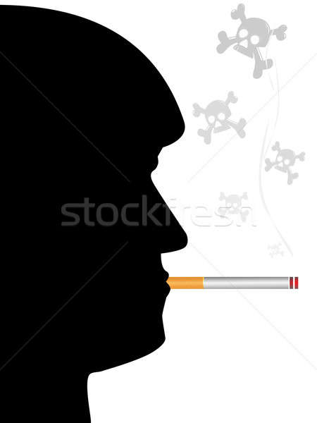 Anti-smoking poster Stock photo © Alina12