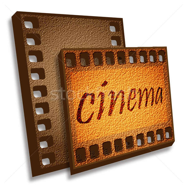 Cinema card Stock photo © Alina12