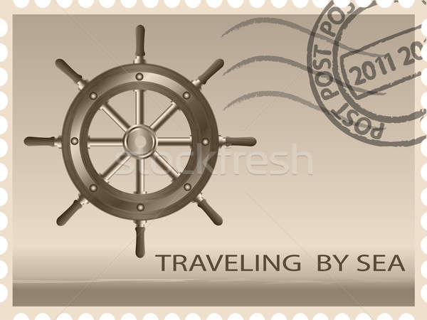 Traveling by sea Stock photo © Alina12