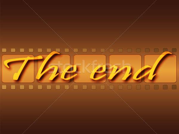 Finish film Stock photo © Alina12