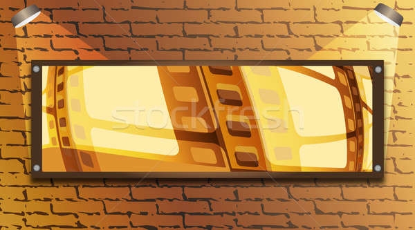 Wall and  board Stock photo © Alina12