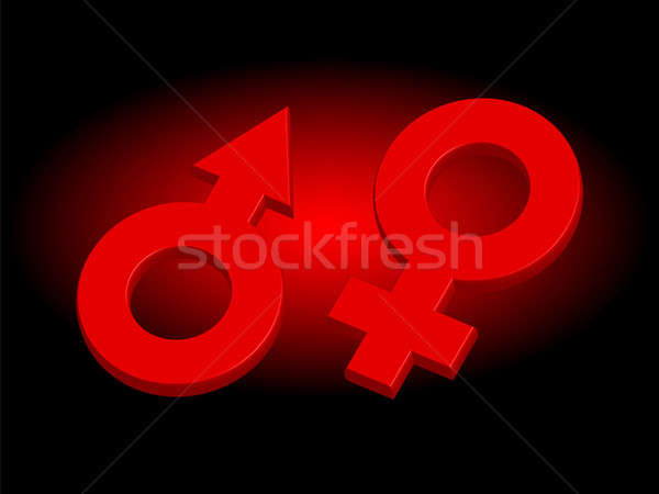 Red signs Stock photo © Alina12