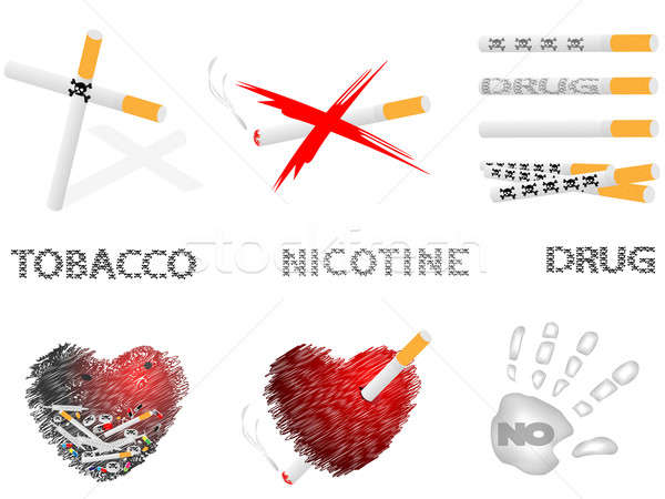 Cigarettes and drugs Stock photo © Alina12