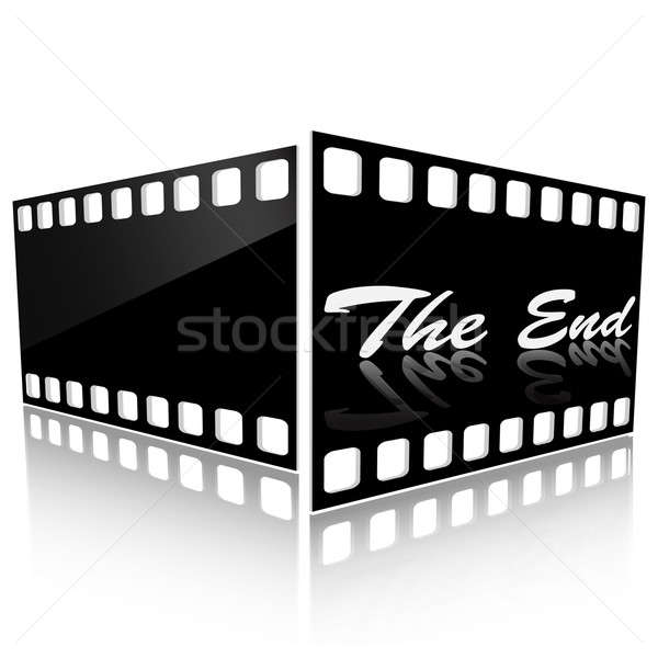 The end Stock photo © Alina12