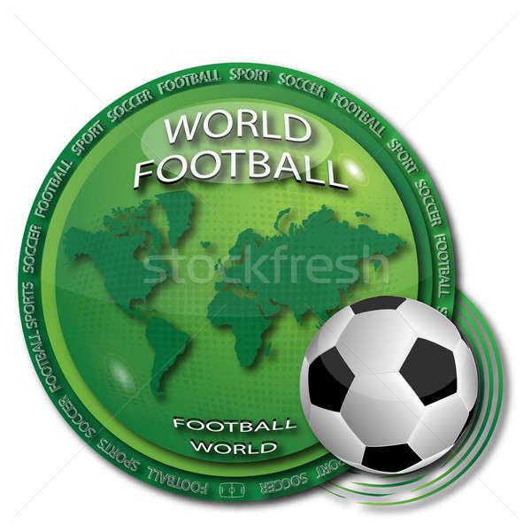 World football Stock photo © Alina12