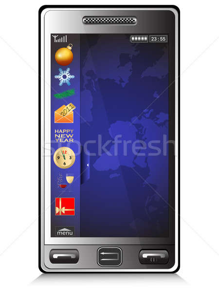 Mobile phone Stock photo © Alina12