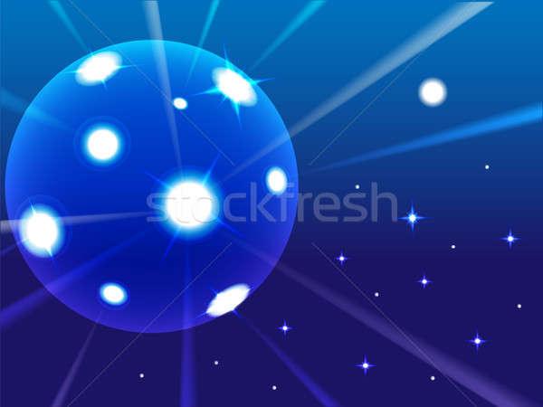 Luminescence sphere Stock photo © Alina12