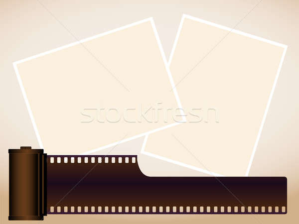 Stock photo: Cartridge and pictures