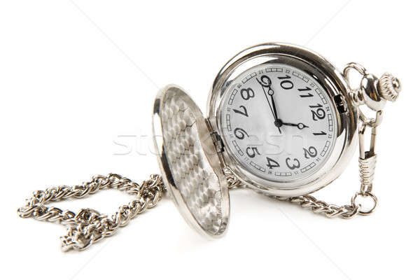 pocket watch with chain Stock photo © alinamd