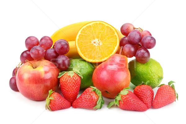 fruits isolated on white background Stock photo © alinamd
