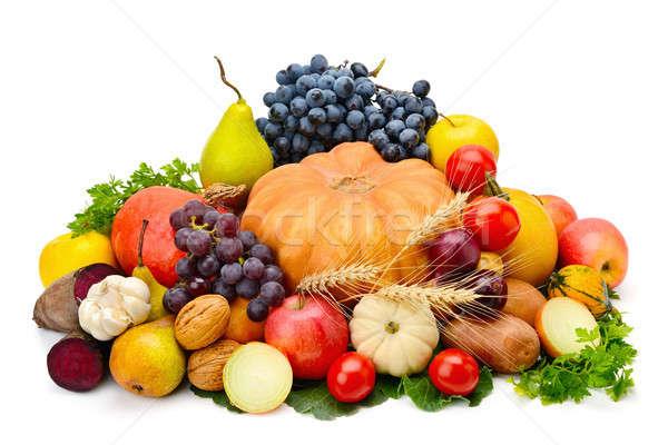 フルーツ 野菜 孤立した 白 果物 野菜 ストックフォト © alinamd