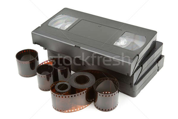videotapes and film Stock photo © alinamd