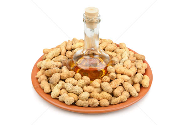 Peanuts and peanut butter Stock photo © alinamd