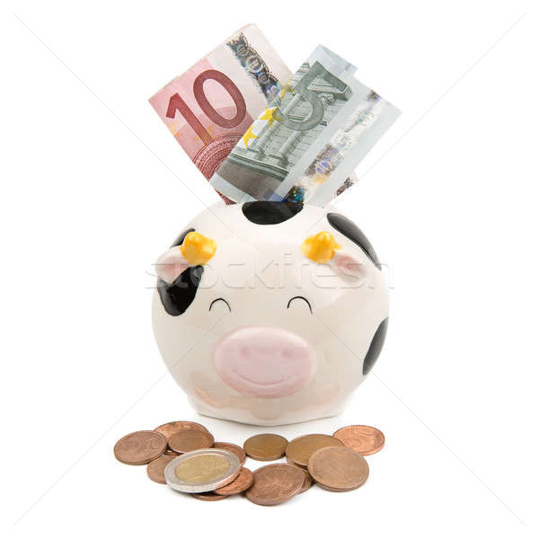 piggy soft money and coins Stock photo © alinamd