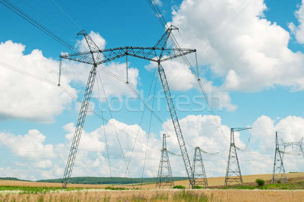 Power transmission line  Stock photo © alinamd