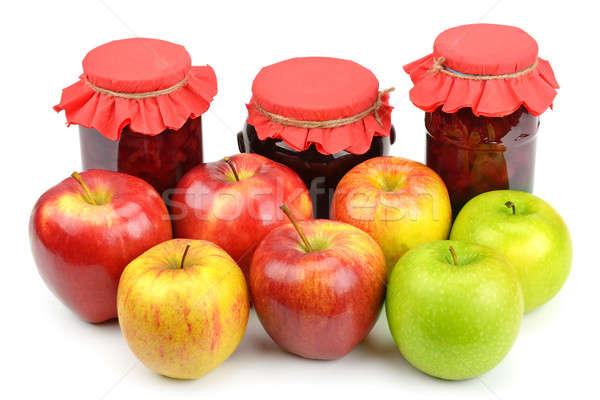 apples and apple jam Stock photo © alinamd