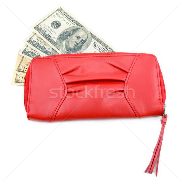 wallet with dollar bills Stock photo © alinamd
