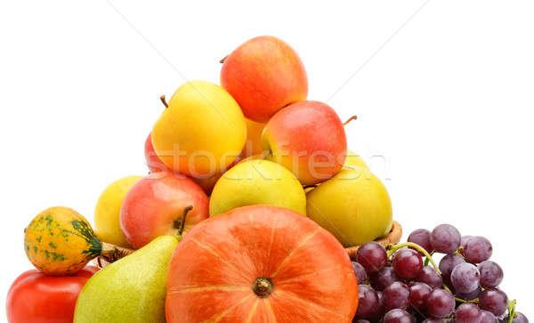 Owoce warzyw odizolowany biały czerwony kolor Zdjęcia stock © alinamd