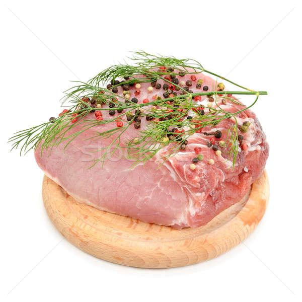 meat tenderloin  on a white background Stock photo © alinamd