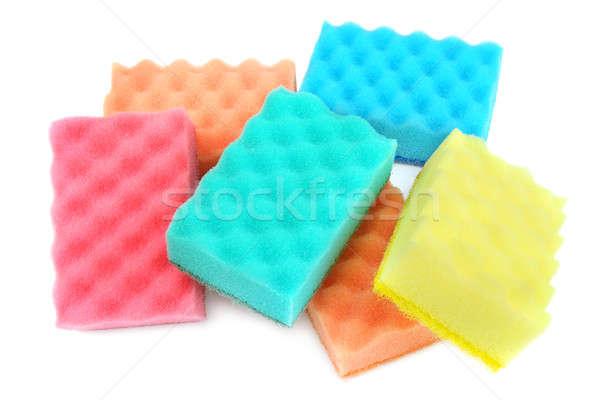 foam sponge isolated on white background Stock photo © alinamd