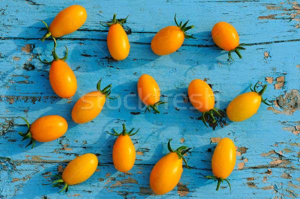 помидоров синий поверхность желтый небольшой Сток-фото © alinamd