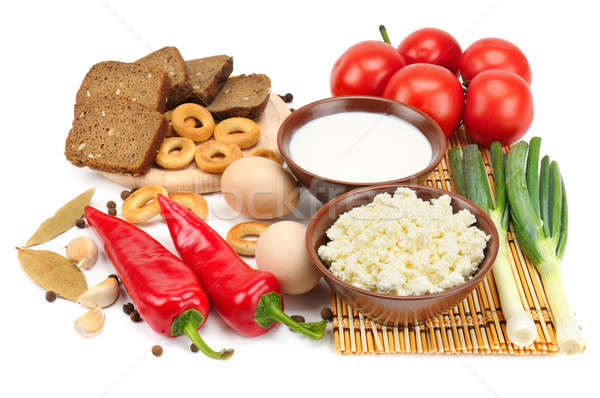 Set of dietary food  Stock photo © alinamd