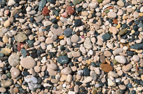 beautiful background of natural stone pebbles Stock photo © alinamd