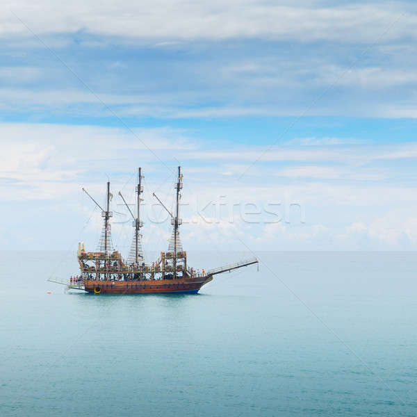 boat in the sea Stock photo © alinamd