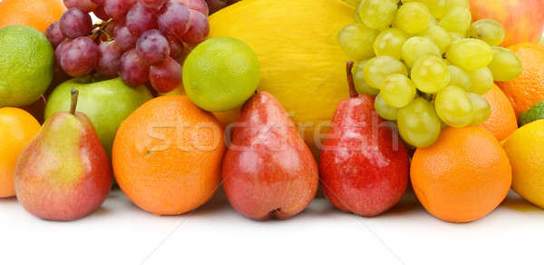 fruit and berries isolated on a white background Stock photo © alinamd