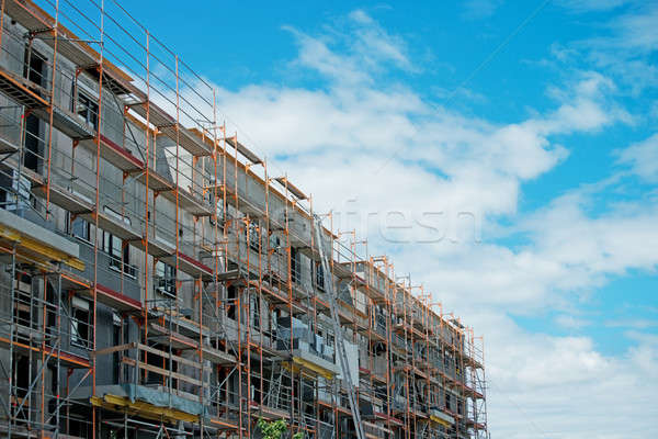 construction of multistory building Stock photo © alinamd