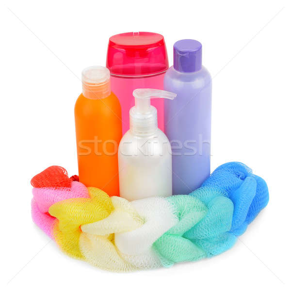 shampoo, liquid soap and cleansers Stock photo © alinamd