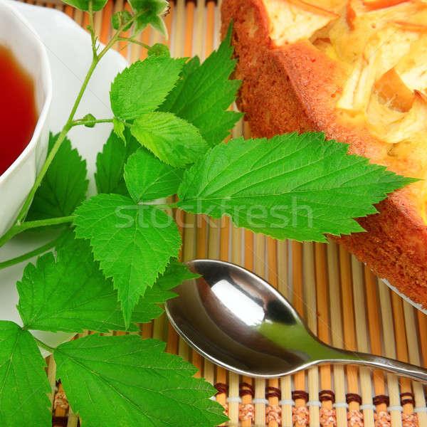 tea and cake Stock photo © alinamd