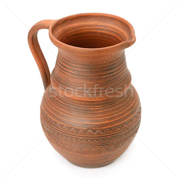 clay pot isolated on white background Stock photo © alinamd