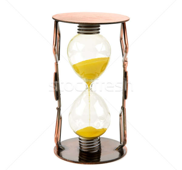 hourglass isolated on white background Stock photo © alinamd