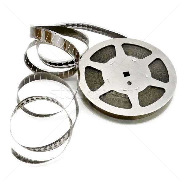 Bande de film isolé blanche fond cadre industrie Photo stock © alinamd