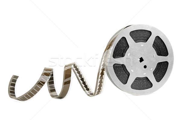 кинопленка изолированный белый фильма кадр фильма Сток-фото © alinamd