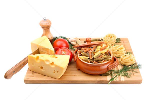 food and kitchen utensils  Stock photo © alinamd
