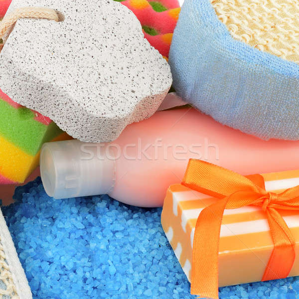 soap and other personal hygiene products Stock photo © alinamd