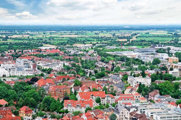 panorama of the city  Stock photo © alinamd