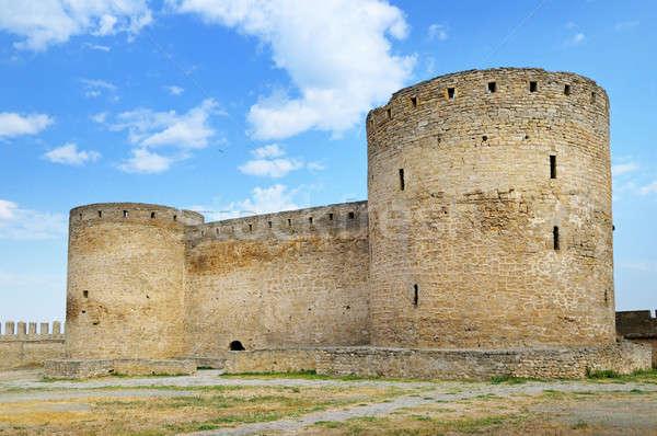 medieval fortress (Ackerman Ukraine) Stock photo © alinamd