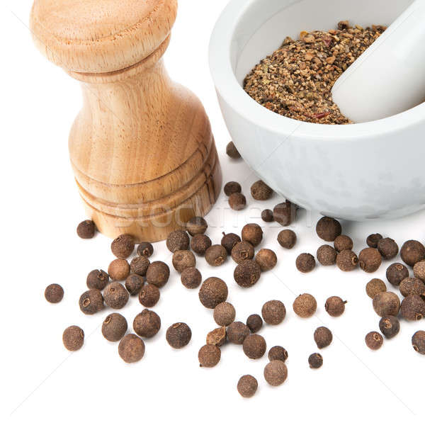 kitchen equipment for grinding spices Stock photo © alinamd