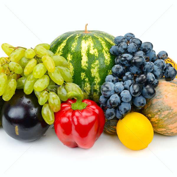 フルーツ 野菜 孤立した 白 セット グループ ストックフォト © alinamd