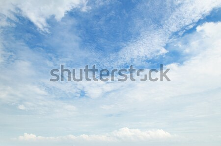The white cumulus clouds against the blue sky Stock photo © alinamd