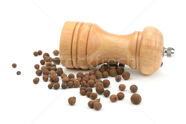 allspice  and a mill for grinding Stock photo © alinamd