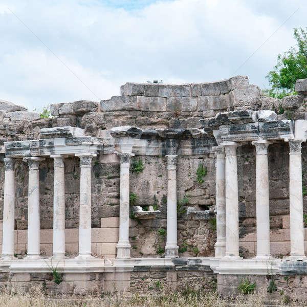美しい 表示 古代 遺跡 サイド トルコ ストックフォト © alinamd